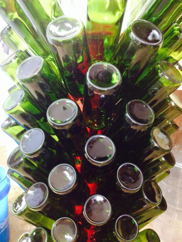 Giggling Grapes Winery Your Favorite Table Wine for Every Occasion Process Bottle Rack