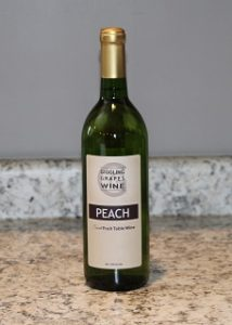 Giggling Grapes Winery Your Favorite Table Wine Peach