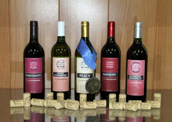 Giggling Grapes Winery Your Favorite Table Wine for Every Occasion Awards