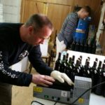 Giggling Grapes Winery Your Favorite Table Wine for Every Occasion Process Bottling