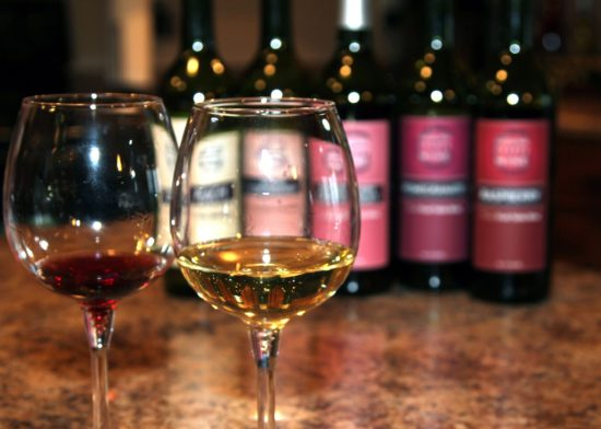 Giggling Grapes Winery Your Favorite Table Wine for Every Occasion Wines Indoors