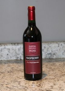 Giggling Grapes Winery Your Favorite Table Wine Raspberry