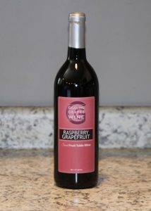 Giggling Grapes Winery Your Favorite Table Wine Raspberry Grapefruit