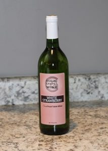 Giggling Grapes Winery Your Favorite Table Wine White Strawberry